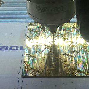 CNC Frästeile Messing
